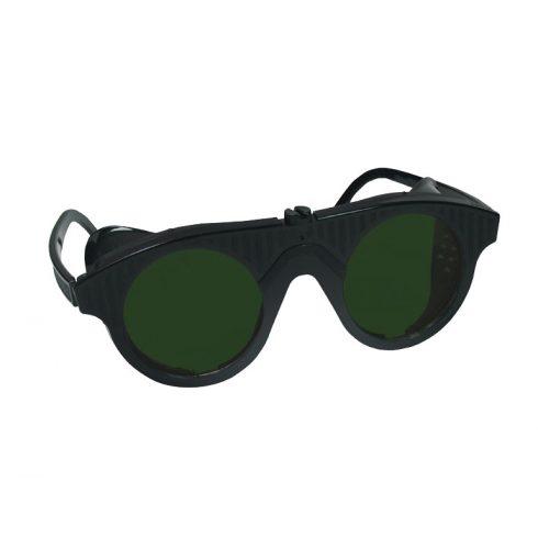 Iweld hegesztéstechnika Lánghegesztő DIN5 védőszemüveg műanyag fekete 17008790
