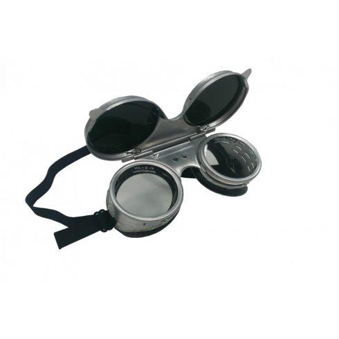 Iweld hegesztéstechnika Lánghegesztő DIN5 védőszemüveg felnyitható fém 17107200