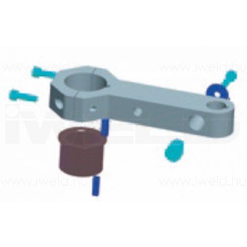 Iweld hegesztéstechnika Pisztolyfej befogó szerkezet egyenes L=178,0mm 536P101280