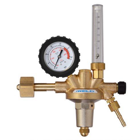 IWELD DYNAREG AR/CO2 nyomáscsökkentő rotaméteres 230/30l/min W21,8 5DRGCO230FLO