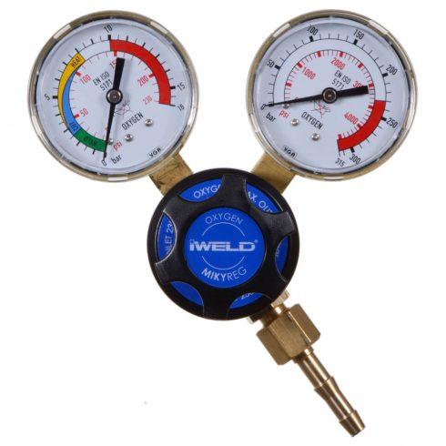 IWELD MIKYREG Oxigén nyomáscsökkentő 230/10 bar 5MRGO23010H