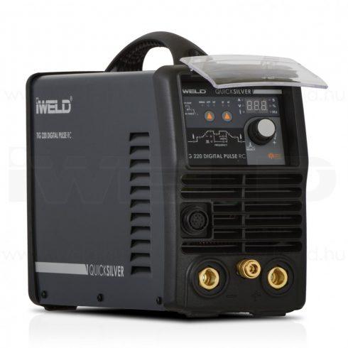 IWELD hegesztőgép TIG 220 DIGITAL PULSE RC Hegesztő inverter 800TIG220DIPU