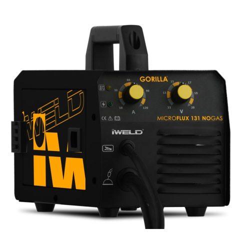 IWELD hegesztőgép GORILLA MICROFLUX 131 NOGAS hegesztő inverter 80MROFLUX131