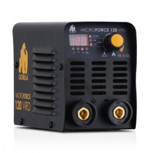 IWELD hegesztőgép GORILLA MICROFORCE 120 VRD hegesztő inverter 80MROFRC120