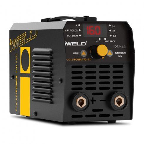 IWELD GORILLA POCKETPOWER 170 VRD Hegesztő inverter inverteres hegesztőgép hegesztés 80POCPWR170